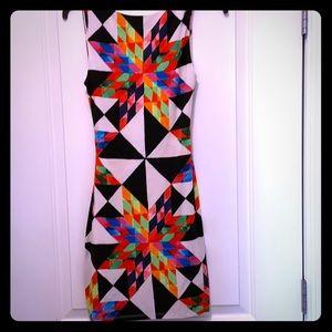 Mara Hoffman Swim geometric dress cover up